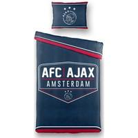 AJAX Amsterdam Dekbed ajax blauw: 140x200/60x70 cm