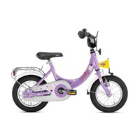 Kinderfiets Puky paars 12 inch