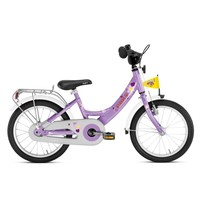 Kinderfiets Puky paars 16 inch