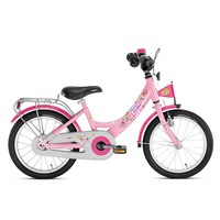 Kinderfiets Puky roze 16 inch