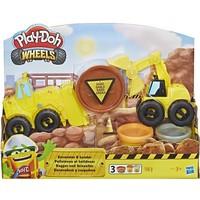 Graafmachine en Bulldozer Play-Doh: 168 gram