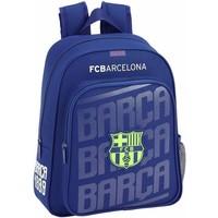 Rugzak barcelona blauw stripes: 34x28x10 cm