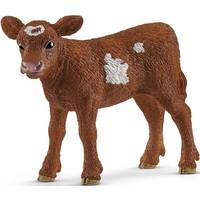 Schleich Texas Longhorn Kalf 13881 - Koe Speelfiguur - Farm World - 7,0 x 2,9 x 5,0 cm