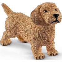 Schleich Teckel 13891 - Hond Speelfiguur - Farm World - 5,0 x 2,3 x 3,6 cm