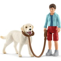 Schleich Labrador 42478 - Hond Speelfiguur- Farm World - 7,5 x 8,0 x 7,5 cm