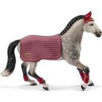 Schleich Trakehner wedstrijd merrie 42456 - Paard Speelfiguur - Horse Club - 15 x 8,2 x 18 cm