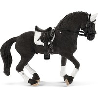 Schleich Fries wedstrijd hengst 42457 - Paard Speelfiguur - Horse Club - 15 x 8,2 x 18 cm