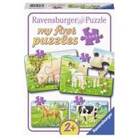 Puzzel My First boerderijdieren 4 in 1: 2/4/6/8 st.