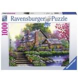 Ravensburger Puzzel romantische cottage: 1000 stukjes