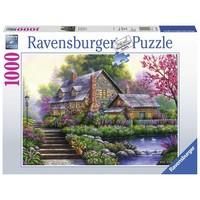 Puzzel romantische cottage: 1000 stukjes