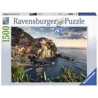 Puzzel uitzicht op Cinque Terre: 1500 stukjes