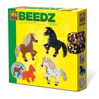 Strijkkralen SES Beedz: paarden met manen