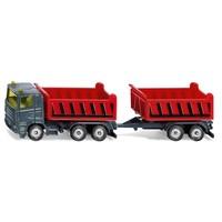 Vrachtwagen met kantelbare bak en kiepaanhanger SIKU