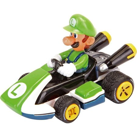 Carrera Auto Pull & Speed Mario Kart 8 - Luigi