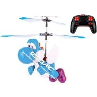 Helicopter RC Carrera Flying Yoshi licht blauw