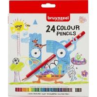 Kleurpotloden Bruynzeel: 24 stuks