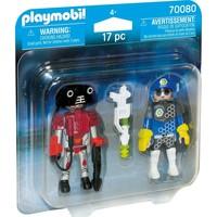 DuoPack Ruimte agent en robot Playmobil