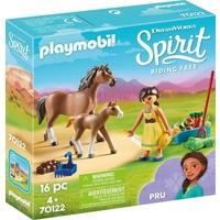 Pru met paard en veulen Playmobil