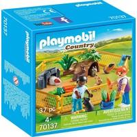 Kinderen met kleine dieren Playmobil