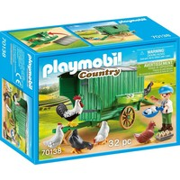 Kind met kippenhok Playmobil