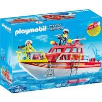 Brandweerboot Playmobil