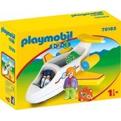 1.2.3. Vliegtuig Playmobil