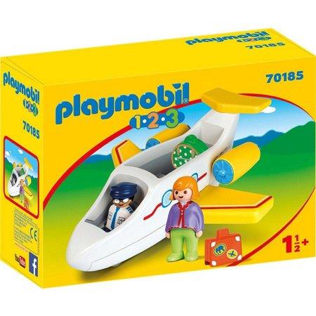Playmobil 1.2.3. Vliegtuig Playmobil