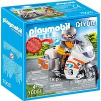 Spoedarts op motor Playmobil