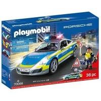 Porsche 911 Carrera 4S Politie wit Playmobil
