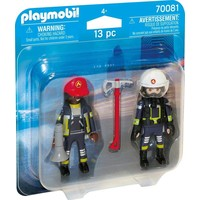 DuoPack Brandweerlui Playmobil