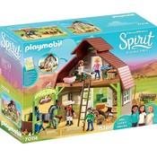 Schuur met Lucky/Pru/Abigail Playmobil