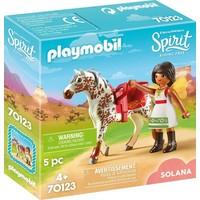 Voltige met Solana Playmobil