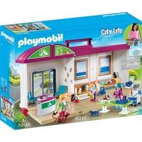 Meeneem dierenkliniek Playmobil