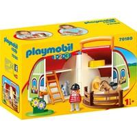 1.2.3. Mijn meeneem manege Playmobil
