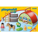 Playmobil 1.2.3. Mijn meeneem manege Playmobil