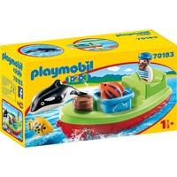 1.2.3. Vissersboot Playmobil