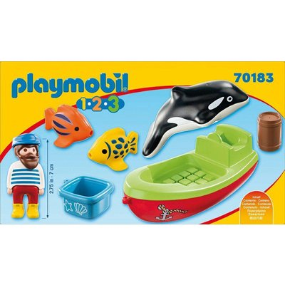 Playmobil 1.2.3. Vissersboot Playmobil