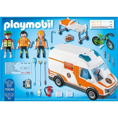 Playmobil Ambulance en ambulanciers Playmobil
