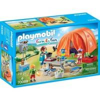 Kampeerders met tent Playmobil