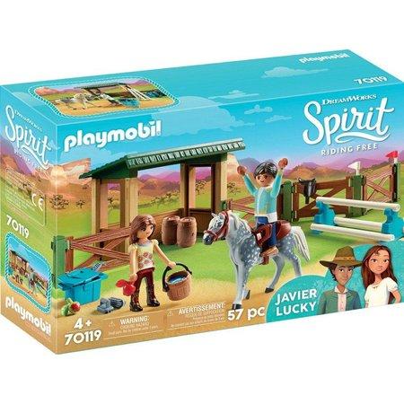 Playmobil Arena met Lucky en Javier Playmobil