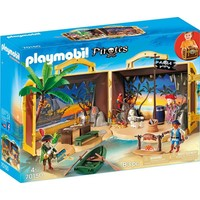 Meeneem pirateneiland Playmobil