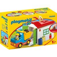 1.2.3. Werkman met sorteer-garage Playmobil