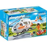 Eerste hulp helikopter Playmobil