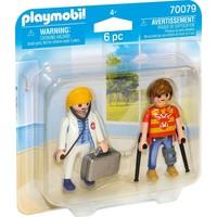 DuoPack Dokter en patient Playmobil