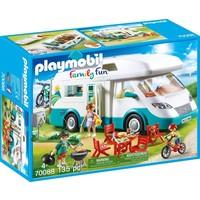 Mobilhome met familie Playmobil