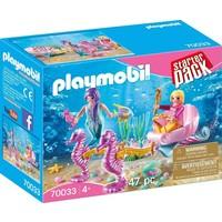 StarterPack koets met zeepaardjes Playmobil