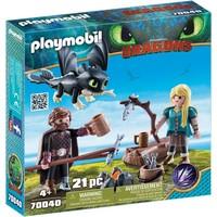 Speelset Hikkie en Astrid Playmobil