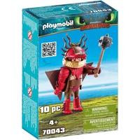 Snotvlerk in vliegpak Playmobil