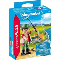 Visser met hengel Playmobil