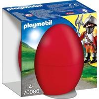 Ei Ridder met kanon Playmobil
